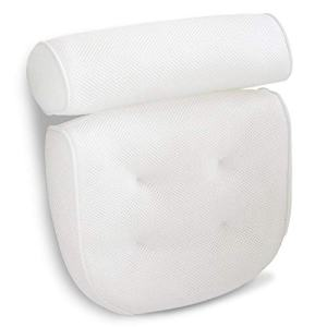 Viventive Luxury Spa Bath Pillow with Head, Neck, Shoulder and Back Support