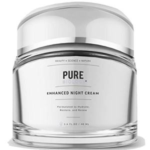 Pure Biology Premium Night Cream Face Moisturizer