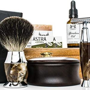 Maison Lambert Ultimate Shaving Kit Set with Organic Shaving Soap
