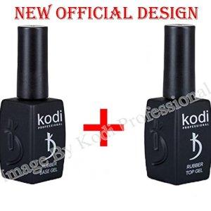 Kodi Professional Rubber Base + Rubber Top 12 ml. 0.42 oz 2pcs.