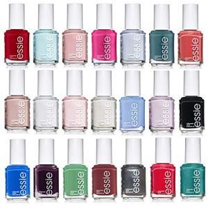 Essie Nail Polish, Set of 6 Random, All Different Colors No Repeats
