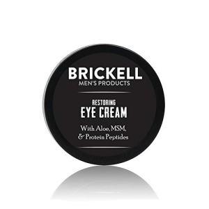 Brickell Men's Restoring Eye Cream for Men, Natural and Organic
