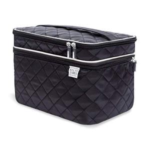 Ellis James Designs Large Travel Makeup Bag for Women