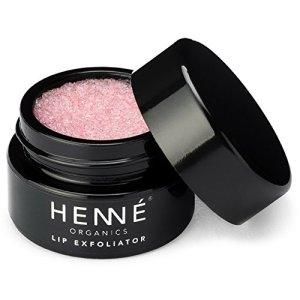 Henné Organics Lip Exfoliator Scrub - Organic Sugar Scrubs for Lips