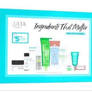 Ulta Beauty Ingredients That Matter 10 Piece Skin Care Favorites Set