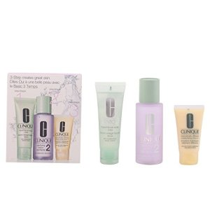 Clinique 3-step Skin Care System 3 Piece Set for Women