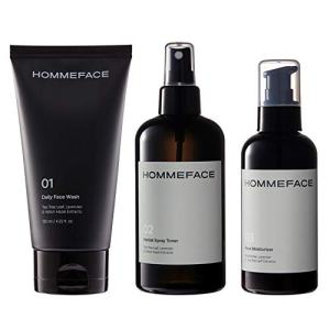 HOMMEFACE Daily Trio Skin Care Set for Men
