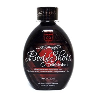 Tanovations Ed Hardy Body Shots Double Shot Warning Mega Extreme Hot Tingle