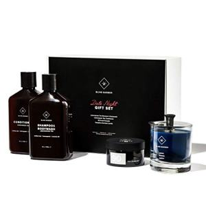 Blind Barber Date Night Gift Set - Premium 4-Piece Hair & Skin Care Kit