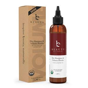 Organic Dry Shampoo Powder - Hair Volume, Volumizing Powder