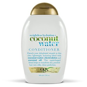 OGX Weightless Hydration + Coconut Water Conditioner, 13 Ounce Bottle