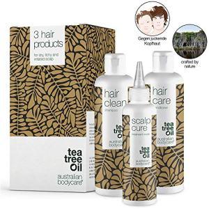 Australian Bodycare Scalp Treatment Set of 3 | Tea Tree Oil Scalp Treatments