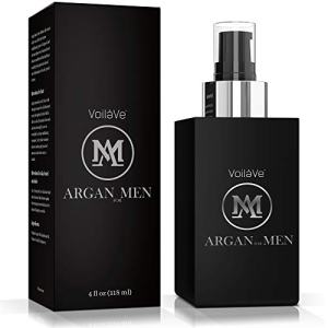VoilaVe Argan Man Skin, Hair, Beard, and Body Oil for Men