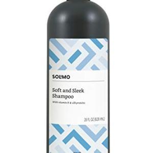 Amazon Brand - Solimo Soft & Sleek Shampoo