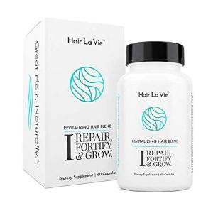 Hair La Vie Revitalizing Blend Hair Vitamins with Biotin, Collagen and Saw Palmetto