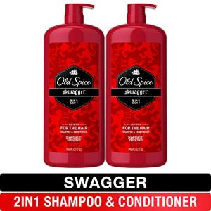 Old Spice, Shampoo and Conditioner 2 in 1, Swagger for Men