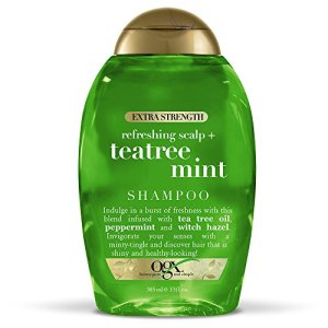 OGX Extra Strength Refreshing Scalp + Tea Tree Mint Shampoo