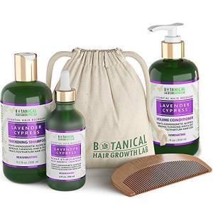 Botanical Hair Growth Lab Anti Hair Loss Alopecia Postpartum DHT Blocker Scalp
