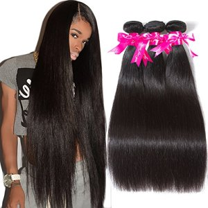Subella Brazilian Straight Hair 3 Bundles Grade 9A Virgin Unprocessed
