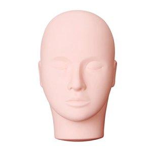 Yephets Pro Training Mannequin Flat Head Practice Make Up Eye Lashes Eyelash