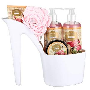 Draizee Rose Scented Home Spa Luxurious 4 Piece Relaxation