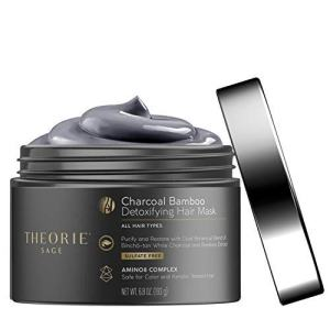 Theorie Charcoal Bamboo Detoxifying Hair Mask
