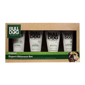 Bulldog Expert Skincare Set Including Shave Gel, Face Wash, Facial Moisturizer