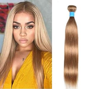Soft Feel 8A Malaysian Silky Straight Hair 1 Bundle Honey Blonde Straight Human