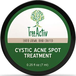 TreeActiv Cystic Acne Spot Treatment, Extra Strength Fast Acting Formula