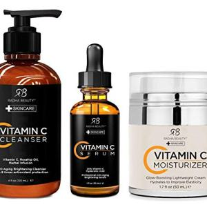 Radha Beauty Vitamin C Complete Facial Care Kit - 3-in-1 Anti-Aging Set