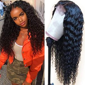 150% Density Lace Front Human Hair Wigs For Black Women 9A Brazilian