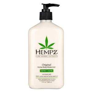 Original, Natural Hemp Seed Oil Body Moisturizer with Shea Butter and Ginseng