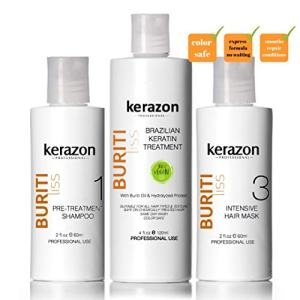 Clarifying Shampoo with Brazilian Keratin Treatment and Intensive Hair Mask