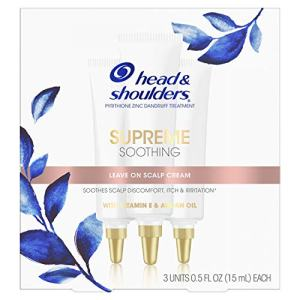 Head & Shoulders Supreme, Soothing Scalp Cream Treatment