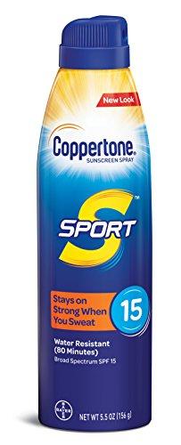 Coppertone SPORT Continuous Sunscreen Spray Broad Spectrum