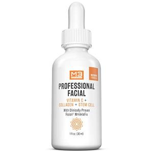 M3 Naturals Professional Facial Vitamin C Infused with Collagen Stem Cell