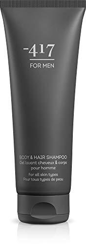 -417 Dead Sea Cosmetics Body & Hair Shampoo for Men