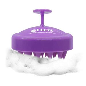 Heeta Hair Scalp Massager, Updated Wet and Dry Hair Shampoo Brush Scalp