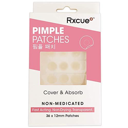Korean Skin Care - Rxcue Pimple Patch Pack - Hydrocolloid Acne Treatment