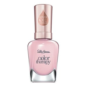 Sally Hansen Color Therapy Nail Polish, Rosy Quartz Long-Lasting Nail Polish
