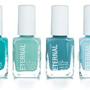 Eternal 4 Collection - 4 Pastel Nail Polish Set: Long Lasting, Quick Dry