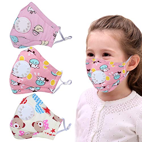 FansportMouth Mask PM2.5 Dustproof Cute Cartoon Mouth Cover Face