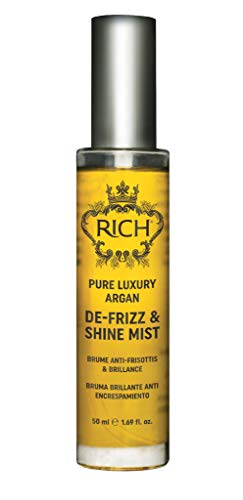 RICH Pure Luxury Argan De-Frizz & Shine Mist with Sweet Almond & Argan Oil