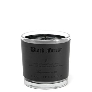 Archipelago Botanicals Black Forest Letter Press Candle