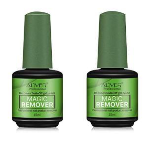 Magic Nail Polish Remover,Professional Removes Soak-Off Gel Nail Polish