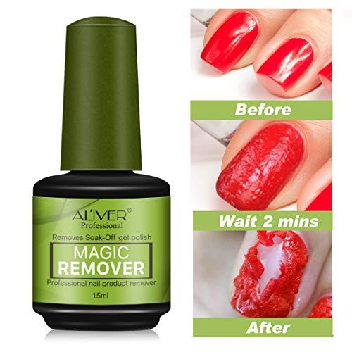 Magic Soak-Off Gel Nail Polish Remover Professional Remover Nail Polish Delete