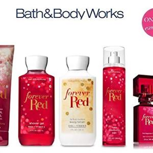 Bath and Body Works FOREVER RED Deluxe Gift Set - Body Lotion