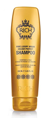 RICH Pure Luxury Argan Color Protect Shampoo for All Hair Types