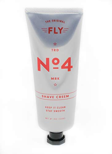FLY NO 4 SHAVE CREAM, Best Luxury Shaving Cream, Close Shave