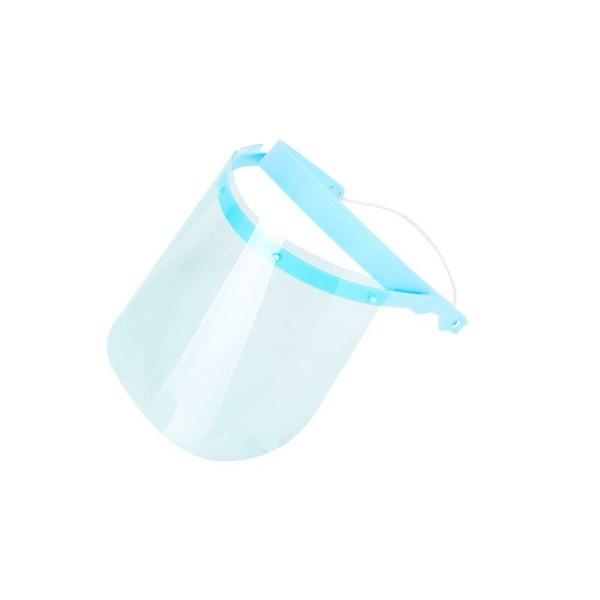1 Set New dental medical protective Detachable full face shield 1 head mask and 10 clear detachable visors